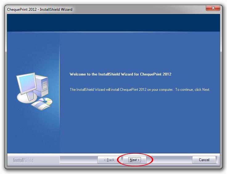 آموزش نصب نرم افزار چاپ چک و مدیریت حسابهای بانکی 01