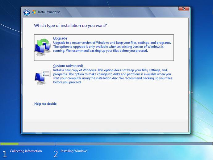 آموزش نصب ویندوز 7 مرحله 5
