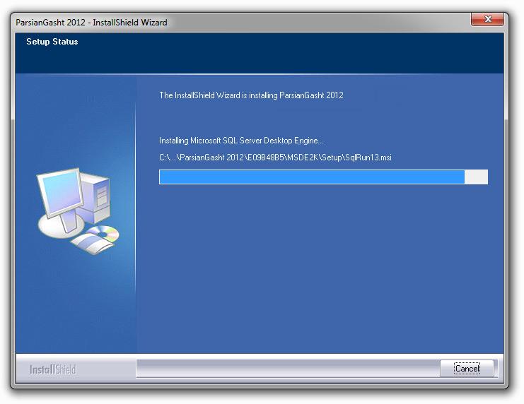 نصب نرم افزار مدیریت هتل مهمانپذیر مرحله6