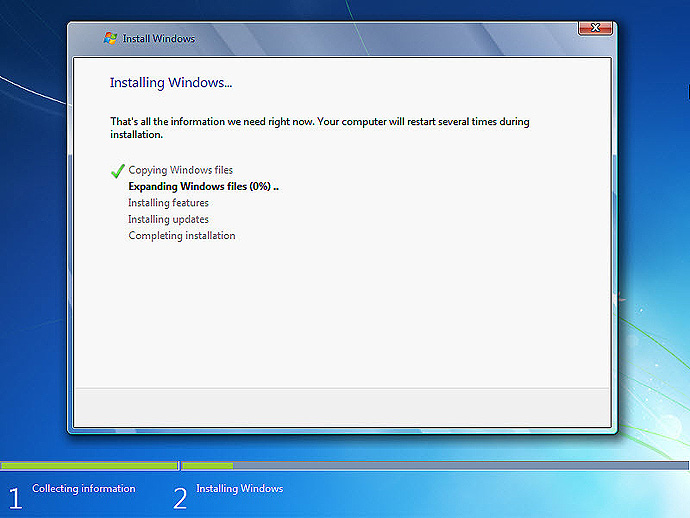 Install Windows 7 On A Computer Step-8