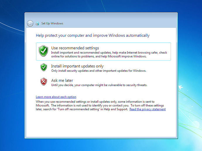 Install Windows 7 On a Computer Step 14