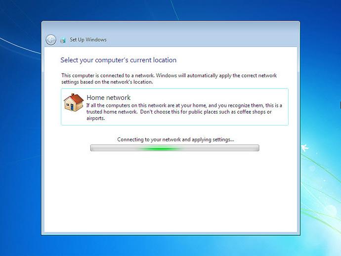 Setup Windows 7 on a Pc or Laptop